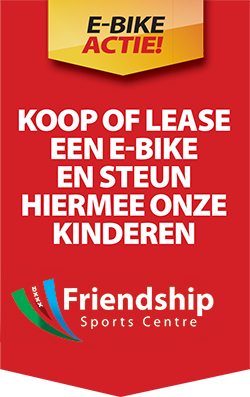 E-bike Actie Friendship Sport Center